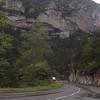 Falaise au dessus du TARN et de la route D 907B