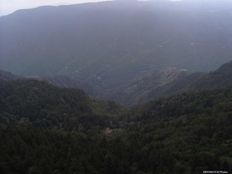 Descente vers LE VIGAN (30) depuis le Mont AIGOUAL