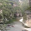 Le TARN depuis le pont de Saint CHELY