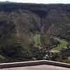 Cirque de NAVACELLES (34) depuis le versant Nord (D 113)