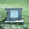Stèle au Col du GLANDON