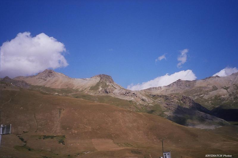 Col du GALIBIER depuis le Col du LAUTARET