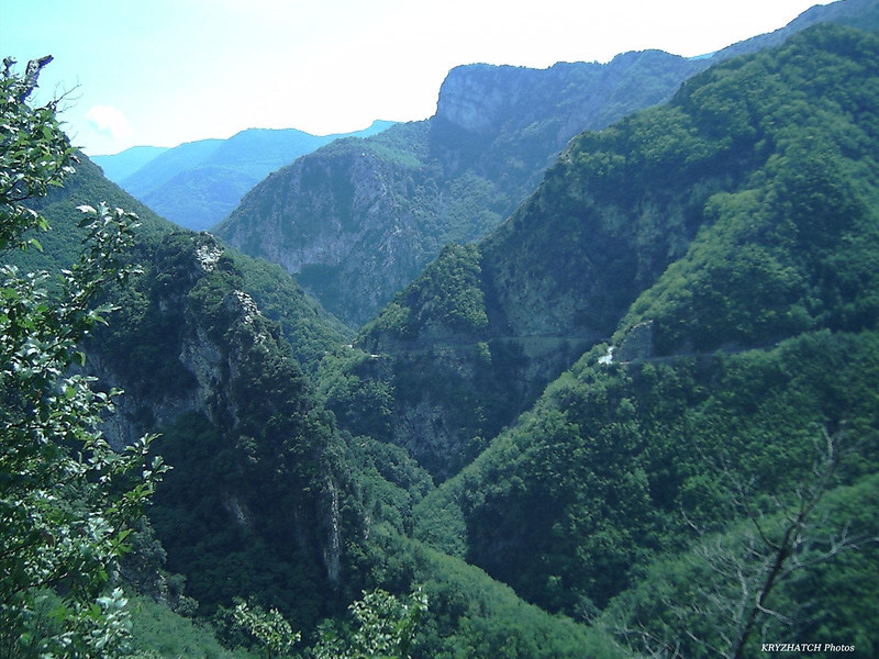 Descente du TURINI vers SOSPEL (06)