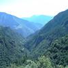 Descente vers la vallée de la TINEE