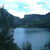 Retenue d'eau du barrage de ROSELEND
