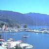 MONTREUX - Port et chaine des Alpes suisse
