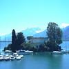 Lac LEMAN - Demeure suisse sur fond alpin