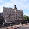 AMSTERDAM - Facade d'un grand hôtel