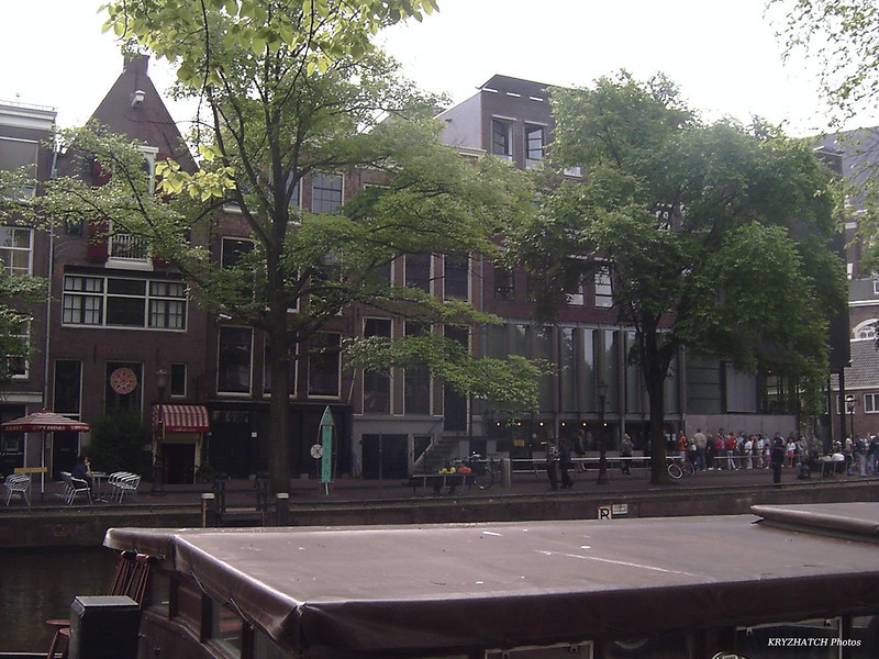 AMSTERDAM - Façade de la maison d'Anne FRANCK