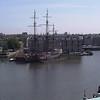AMSTERDAM - Navire AMSTERDAM devant le musée maritime