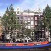 AMSTERDAM - Façades sur canal