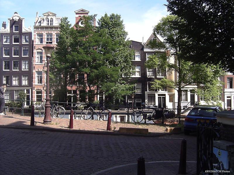 AMSTEDAM - Facade de l'hôtel New Amsterdam