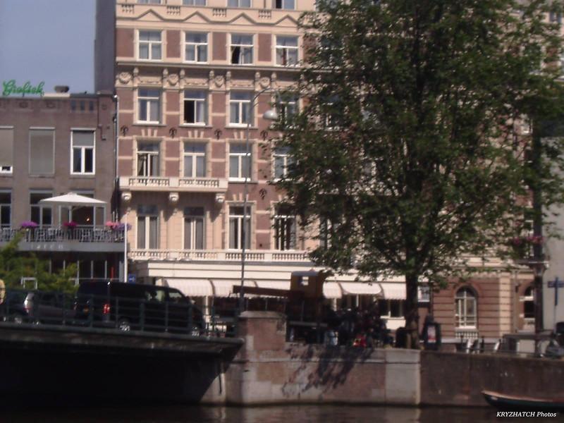 AMSTERDAM - Façade avec cariolle HEINEKEN