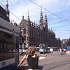 AMSTERDAM - Façades sur l'Avenue DAMRAK