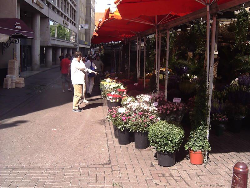 AMSTERDAM - Marché aux fleurs