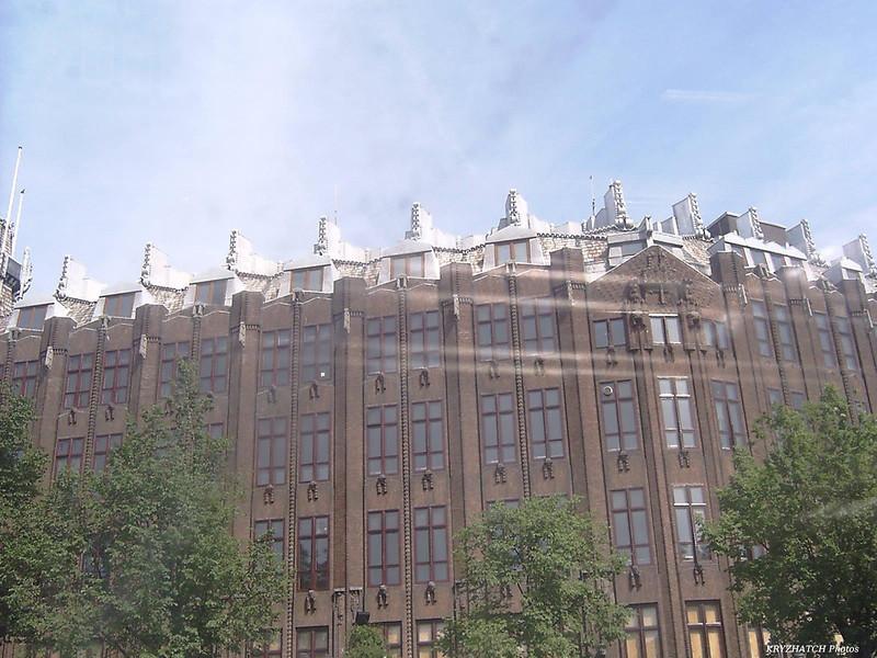 AMSTERDAM - Façade donnant sur les canaux
