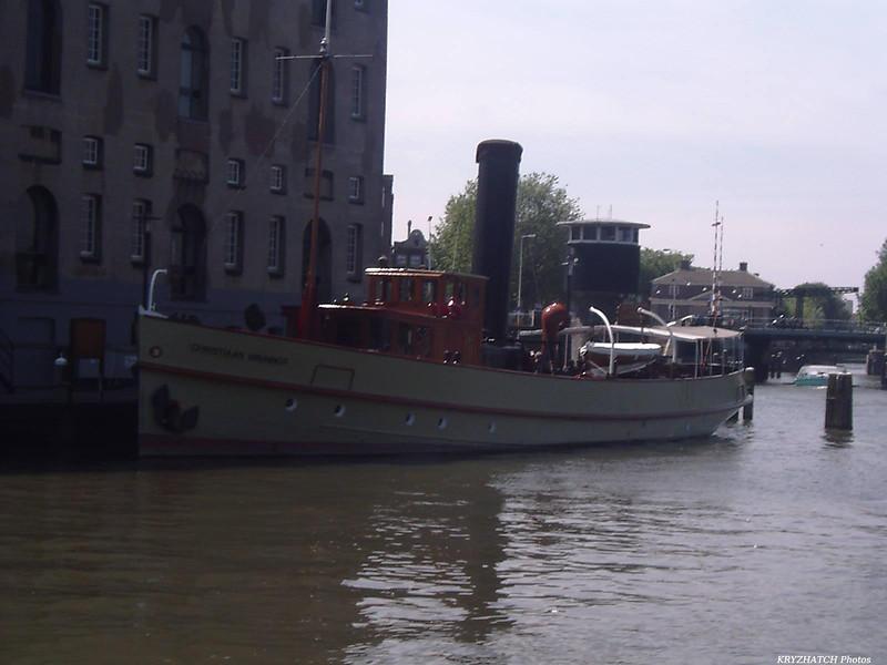 """AMSTERDAM - Navire à vapeur """"Christiaan BRUNINGS """""""