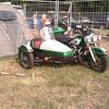HARLEY DAVIDSON Electraglide - sport avec Side-car