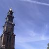 AMSTERDAM - Eglise à proximité de la maison d'Anne FRANCK