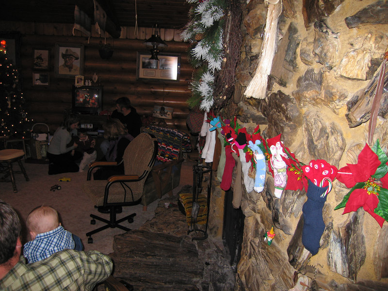 Stocking hung by the fire with care