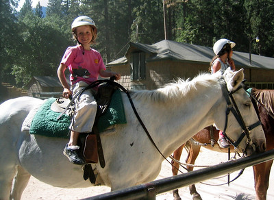 Aug 2006 - Horse Riding in Yocemite