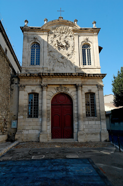 Chapelle des pénitents noirs de la miséricorde (ordre monastique qui s'était donné pour mission d'aider les prisoniers).