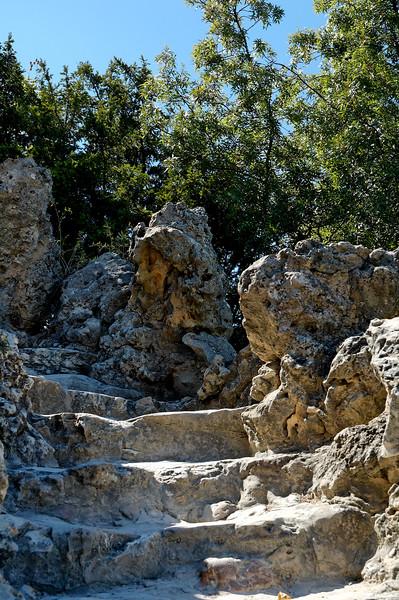 Dans le parc du rocher des doms