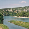 AIGUEZE - Vue depuis pont à Saint MARTIN d'Ardèche