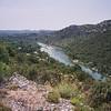 Fin des Gorges de l'Ardèche