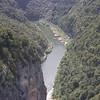 Paroi verticale sur l'Ardèche