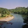 Canoes sur l'Ardèche