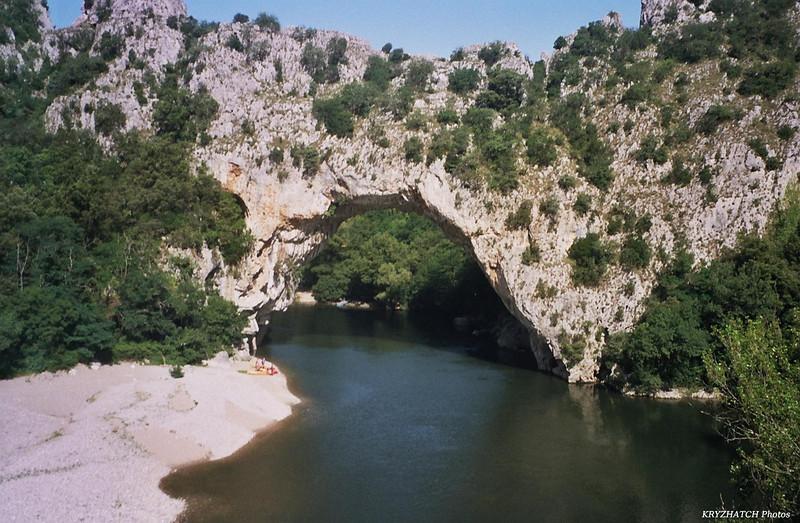 Pont d'ARC sur l'Ardèche