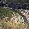 Méandres de la rivière depuis le Belvédère du RANC POINTU