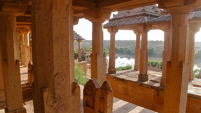 De Koninklijke tombes van Bada Bagh