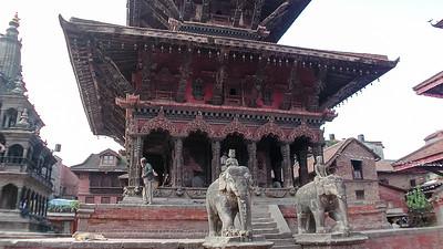 Kathmandu Durbar-plein
