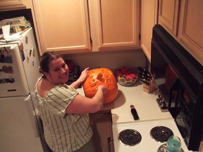 2007, October 30th:  Pumpkin Carving