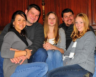 Nick and Jenny Roth, Krystie Roth , Zach Roth, and Melissa Roth...my babies..:-)