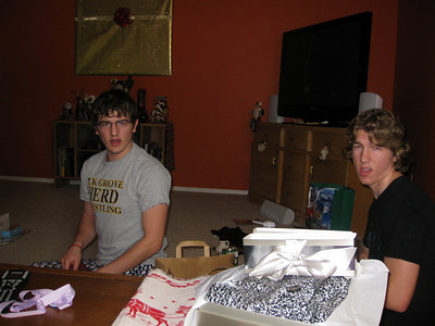 2008-12-25 Christmas morning at home