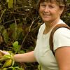 Carolyn at Akaka Falls park.