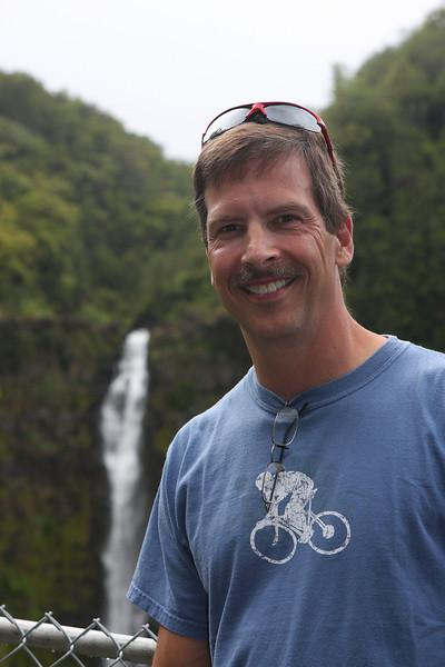 Tom at Akaka Falls.