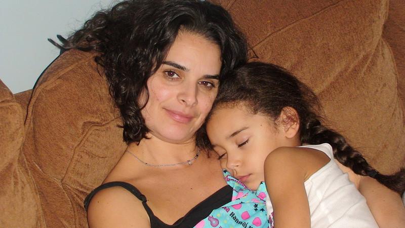 Lisa and her Sleeping beauty...