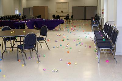 2009 April 12 - East Egg hunt at church