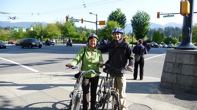 Fietsen in Vancouvers Stanley Park