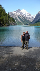 Aan het Kinney Lake