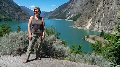 Seton Lake bij Lillooet