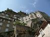 ROCAMADOUR - Maisons contre la falaise