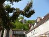 ROCAMADOUR (46) - Terrasse devant l'église
