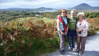 Wandeling in het Connemara NP