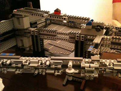 2009 Imperial Star Destroyer Project, rear infrastructure.