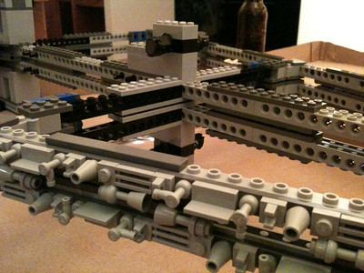 Basic skeleton of the 2009 Imperial Star Destroyer Project.